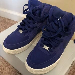 Nike Air Force 1 Royal Blue